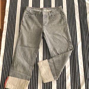 Boden light gray denim pants